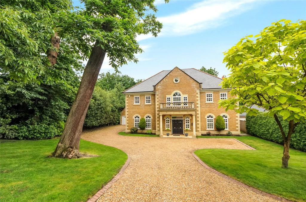 5 Bedrooms Detached House for sale in Alpine Close, Hancocks Mount, Ascot, Berkshire, SL5