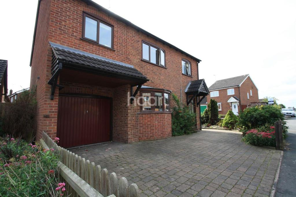 4 Bedrooms Detached House for sale in Underwood Drive, Stoney Stanton