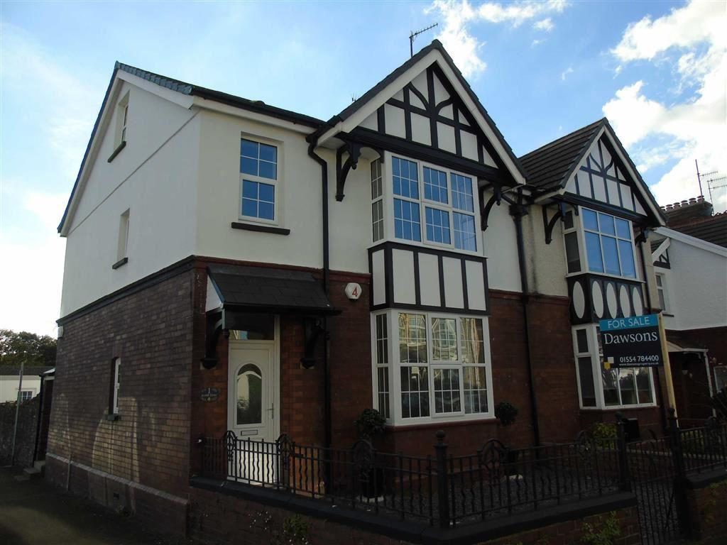 4 Bedrooms Semi Detached House for sale in Coleshill Terrace, Llanelli