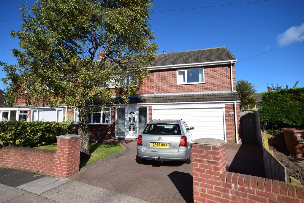 5 Bedrooms Semi Detached House for sale in Warwick Drive, East Herrington, Sunderland