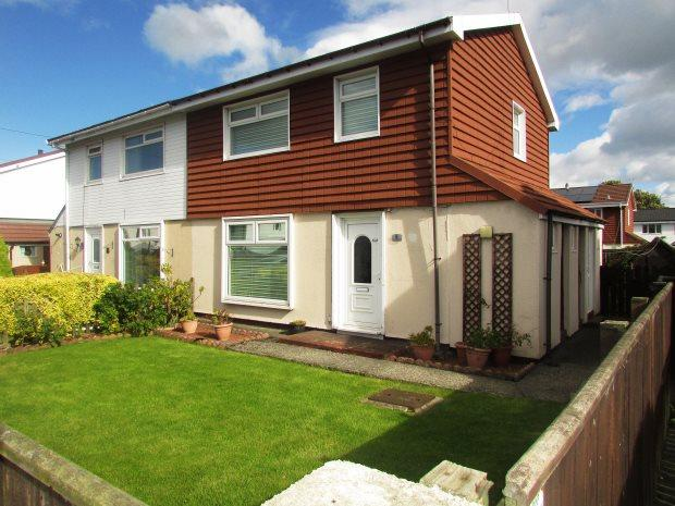 3 Bedrooms Semi Detached House for sale in ELLESMERE DRIVE, SEAHAM, SEAHAM DISTRICT
