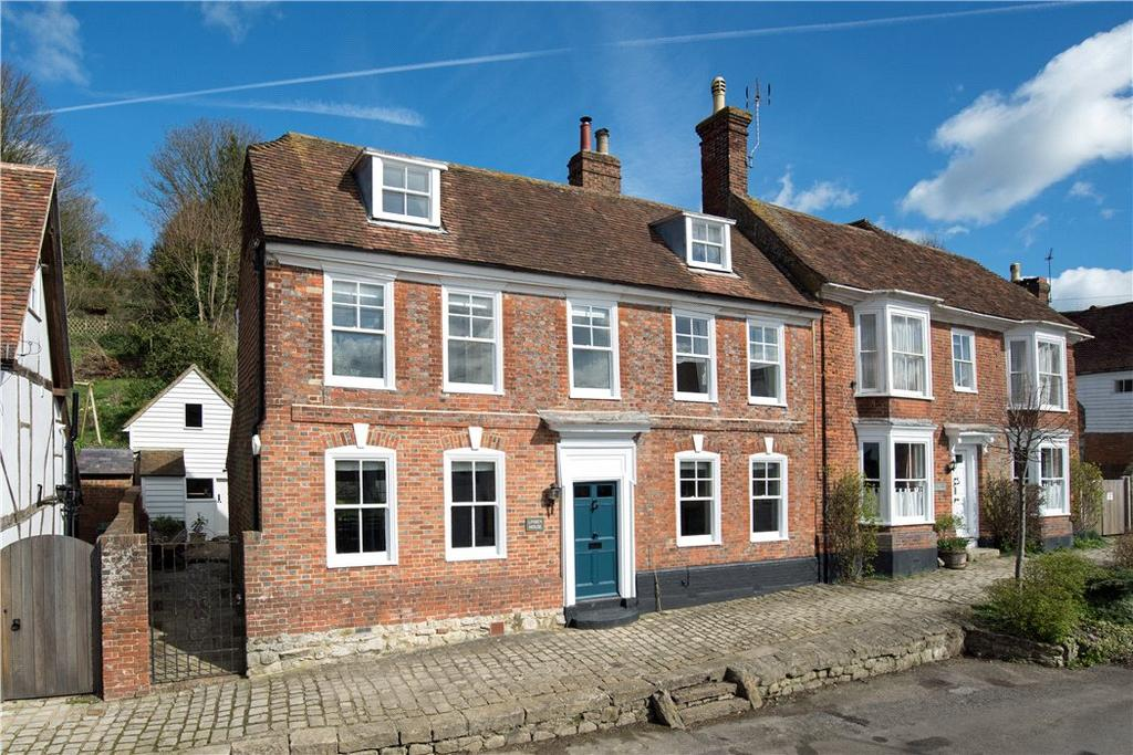 4 Bedrooms Semi Detached House for sale in Broad Street, Sutton Valence, Maidstone, Kent, ME17