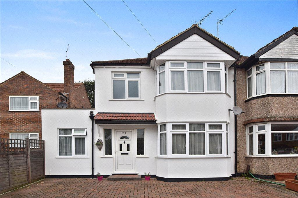 4 Bedrooms Semi Detached House for sale in Derby Avenue, Harrow, Middx, HA3