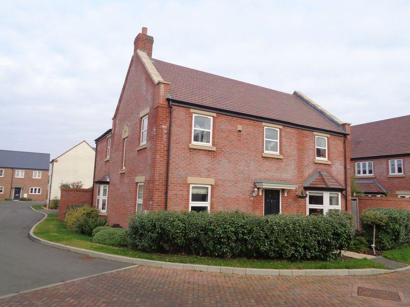 4 Bedrooms Detached House for sale in Fothersway Close,Badsey