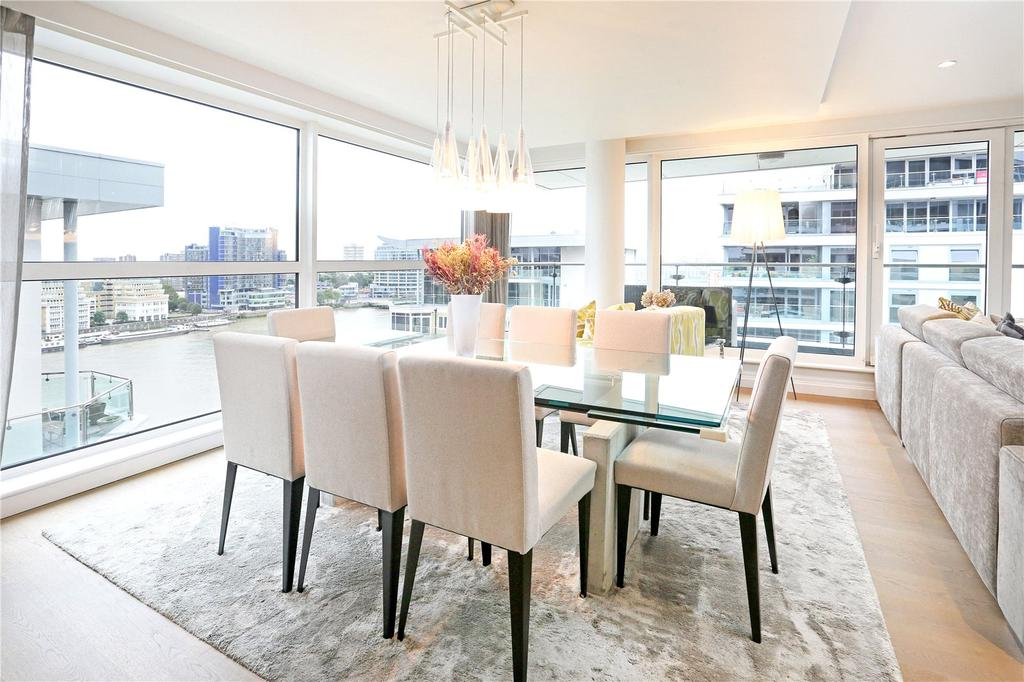 3 Bedrooms Flat for sale in Thames Point, The Boulevard, London, SW6