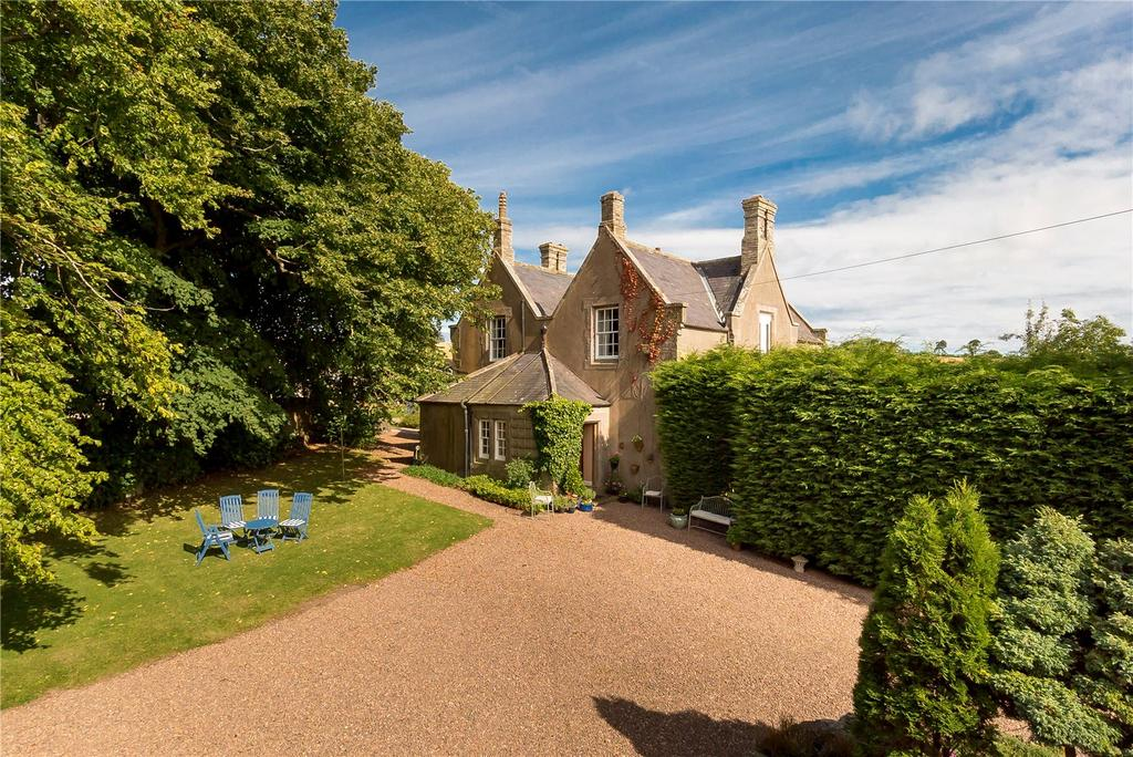5 Bedrooms Detached House for sale in Mount Alban, Reston, Eyemouth, Berwickshire, TD14