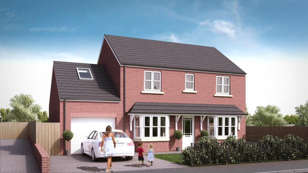 4 Bedrooms Detached House for sale in PLOT 1, 30A LANGBAR ROAD, WHINMOOR LS14 5ER