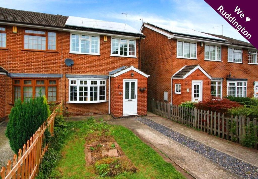 3 Bedrooms Semi Detached House for sale in Templeman Close, Ruddington, Nottingham, NG11