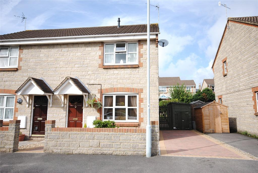3 Bedrooms Semi Detached House for sale in Gough Place, Cheddar, Somerset, BS27
