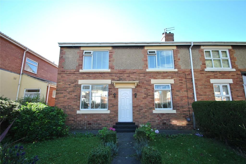 3 Bedrooms Semi Detached House for sale in Burn Park Road, Houghton le Spring, Tyne and Wear, DH4