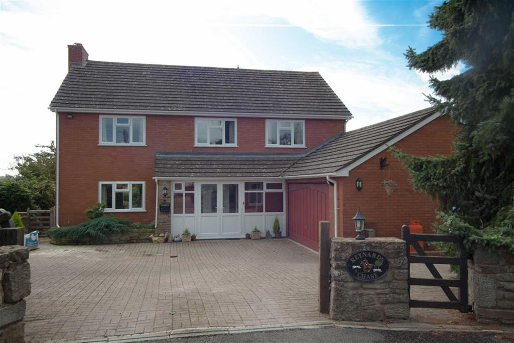 5 Bedrooms Detached House for sale in Coldwells Road, HOLMER, Hereford