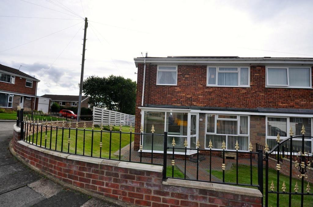 3 Bedrooms Semi Detached House for sale in Barras Drive, Sunderland