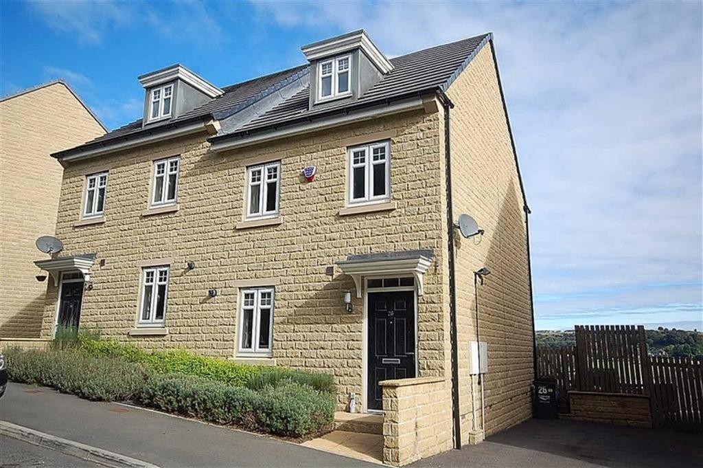 3 Bedrooms Semi Detached House for sale in Fountain Head Road, Ovenden Wood, Halifax, HX2