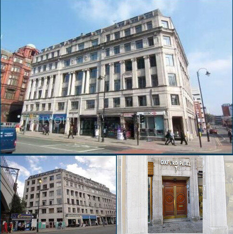 1 bedroom apartment to rent - Oxford Place, Oxford Rd, City centre, Manchester M1