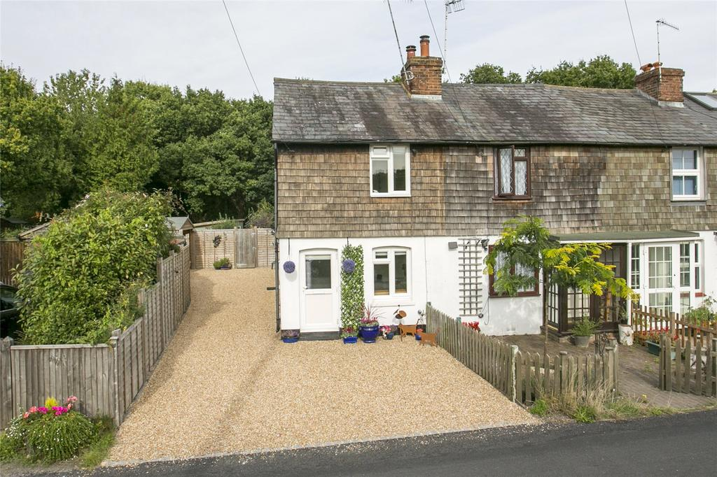 2 Bedrooms End Of Terrace House for sale in The Compasses, Leigh, Tonbridge, Kent
