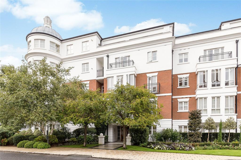 3 Bedrooms Flat for sale in Sandalwood Mansions, Stone Hall Gardens, London