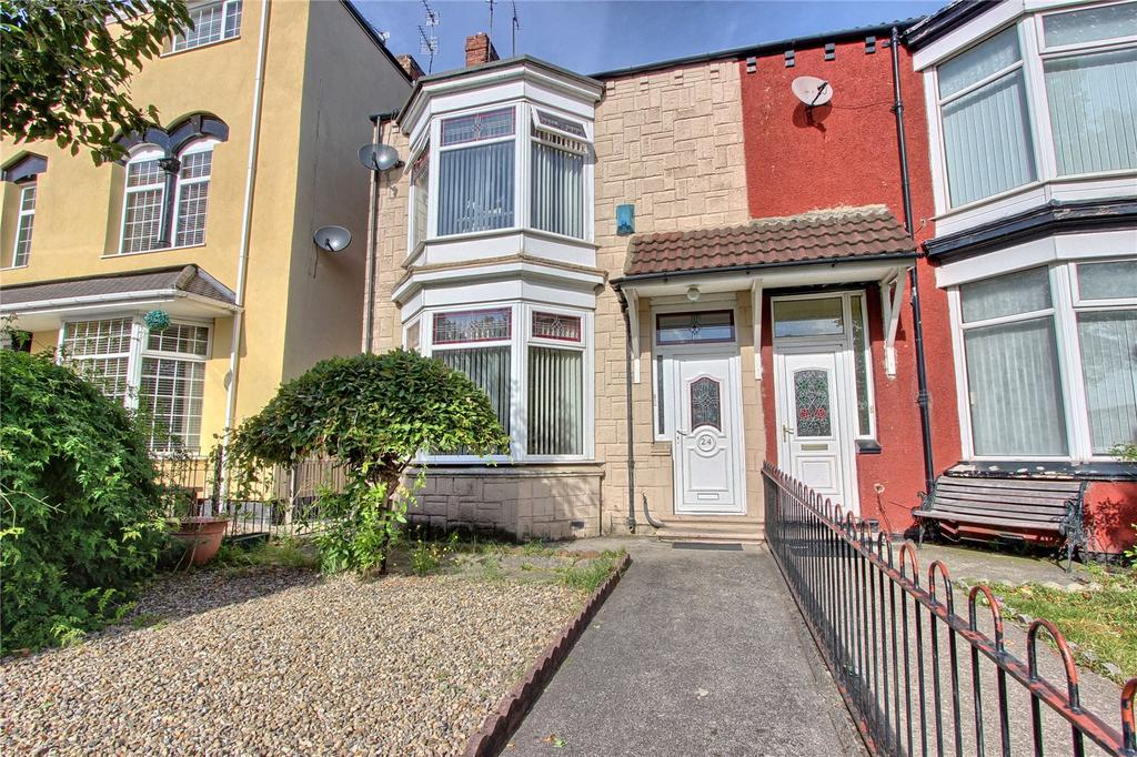 3 Bedrooms End Of Terrace House for sale in Breckon Hill Road, Longlands