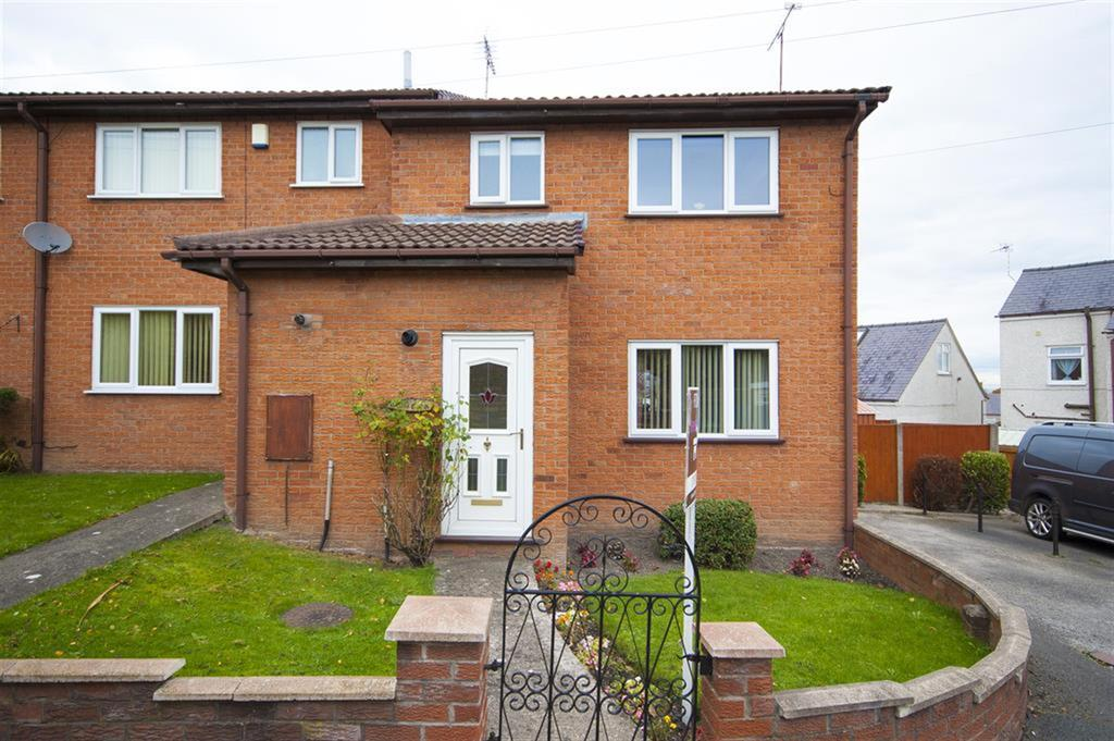 3 Bedrooms End Of Terrace House for sale in The Oaks, Brynydd, Ponciau, LL14 1HA