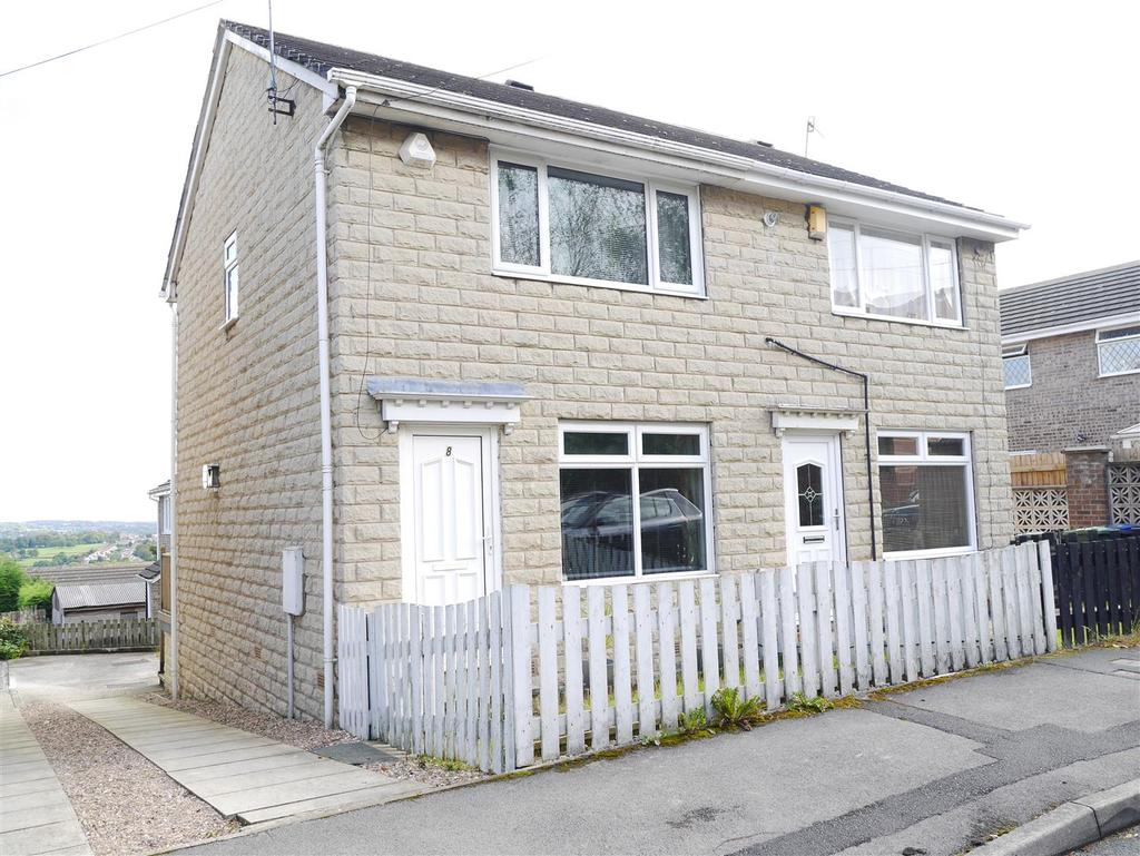 2 Bedrooms Semi Detached House for sale in Castlegate Drive, Off The Bank, Bradford, BD10 8BW