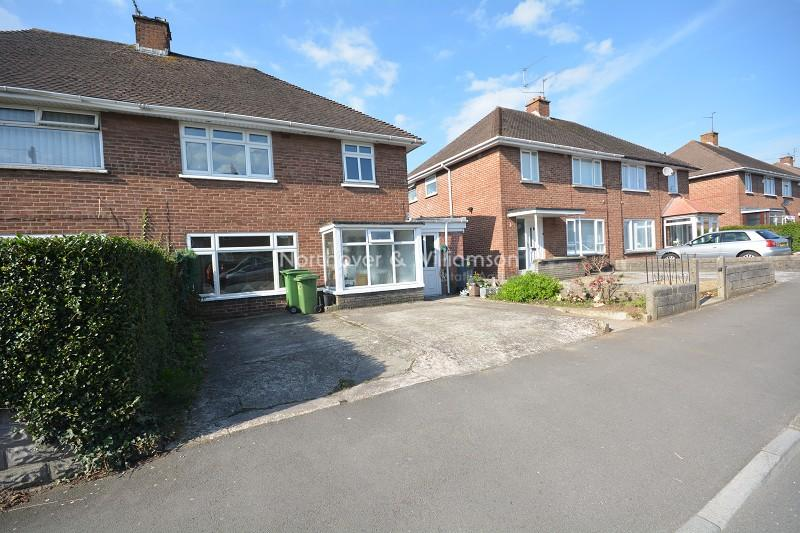3 Bedrooms Semi Detached House for sale in Llanrumney Avenue, Llanrumney, Cardiff. CF3