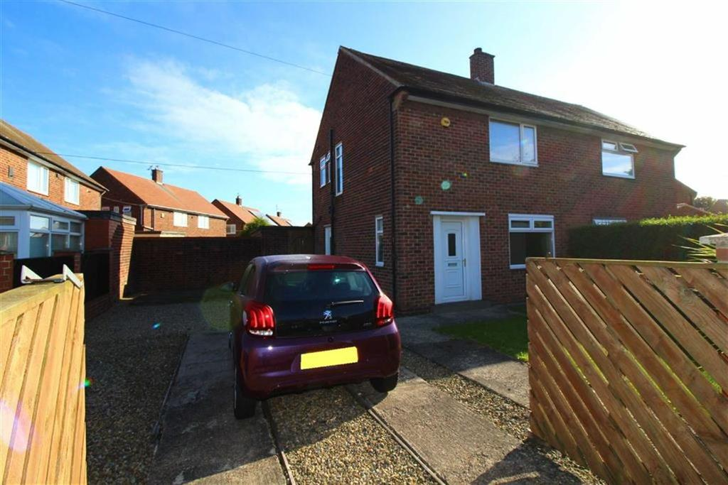 2 Bedrooms Semi Detached House for sale in Alwinton Avenue, North Shields