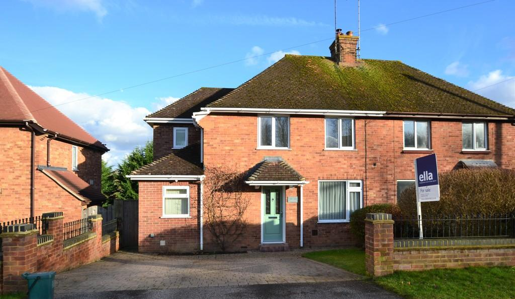 3 Bedrooms Semi Detached House for sale in Westfields, Buckingham