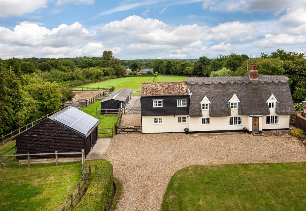 4 Bedrooms Equestrian Facility Character Property for sale in Woodditton Road, Kirtling, Newmarket, Suffolk, CB8