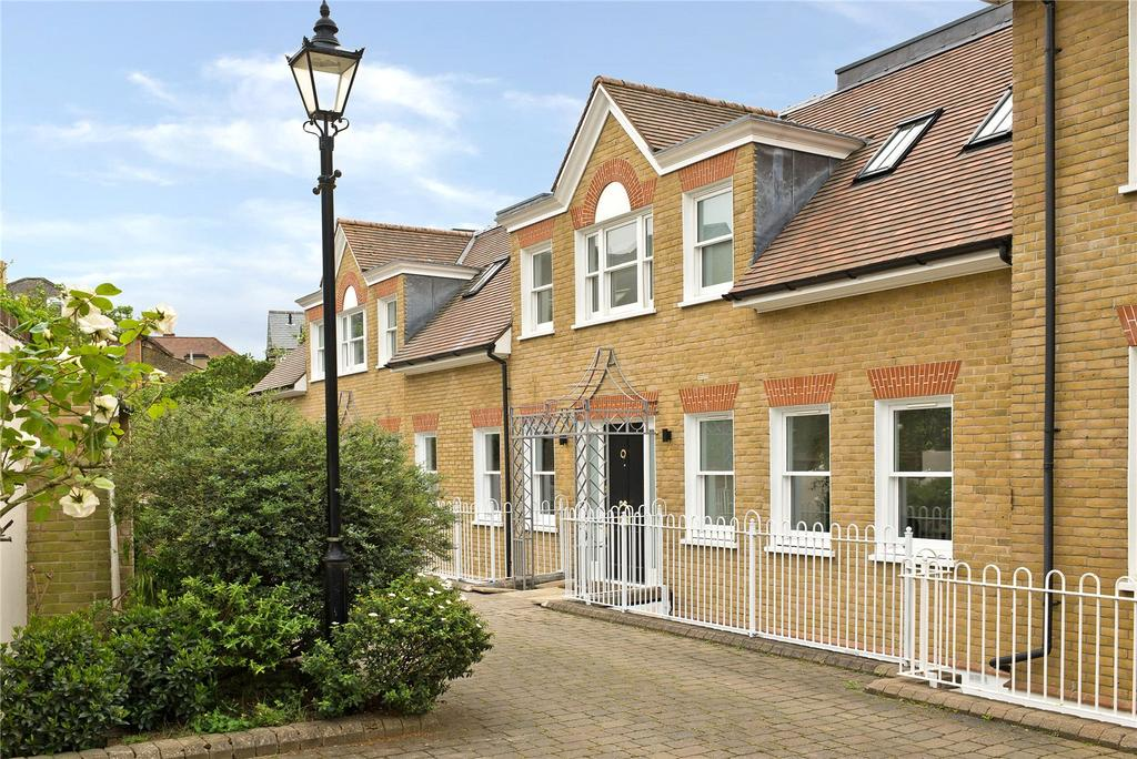 4 Bedrooms Terraced House for sale in Homefield Place, 14b Homefield Road, Wimbledon, London, SW19