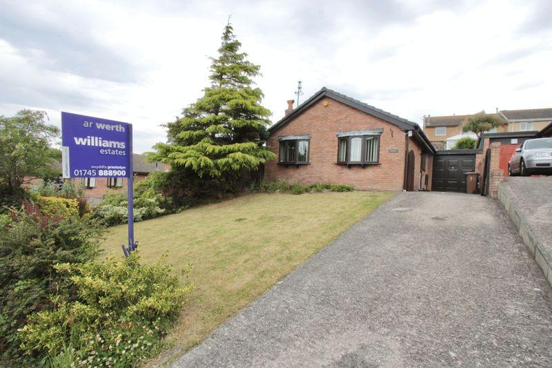 2 Bedrooms Detached Bungalow for sale in Llys Dewi, Gronant