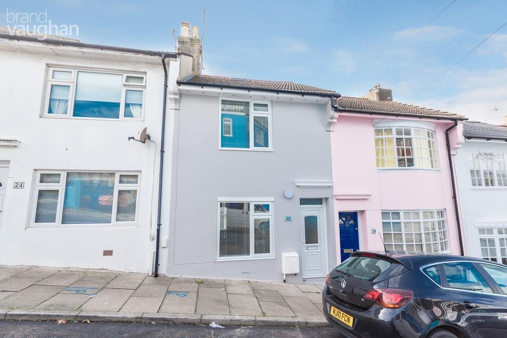 3 Bedrooms Terraced House for sale in Cromwell Street, Brighton, BN2