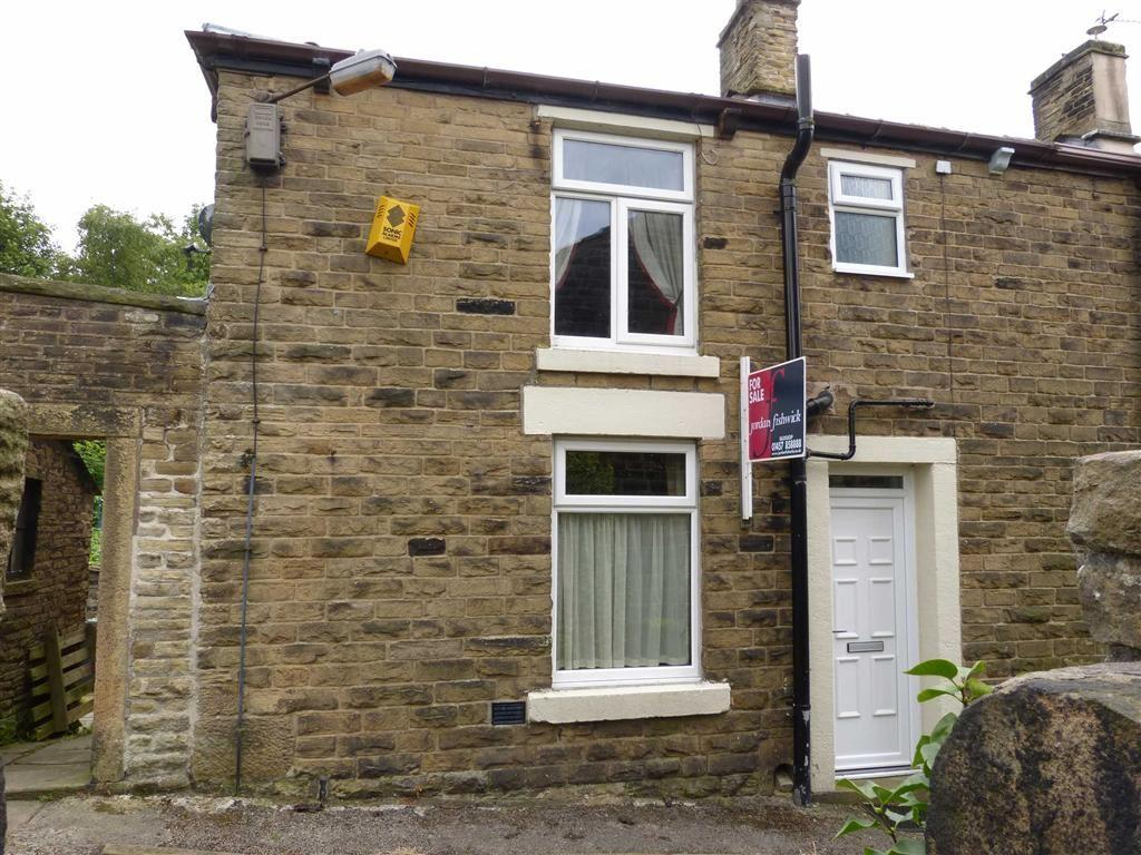 2 Bedrooms End Of Terrace House for sale in Padfield Gate, Glossop