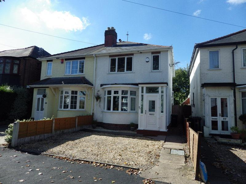 2 Bedrooms Semi Detached House for sale in Olive Hill Road, Halesowen