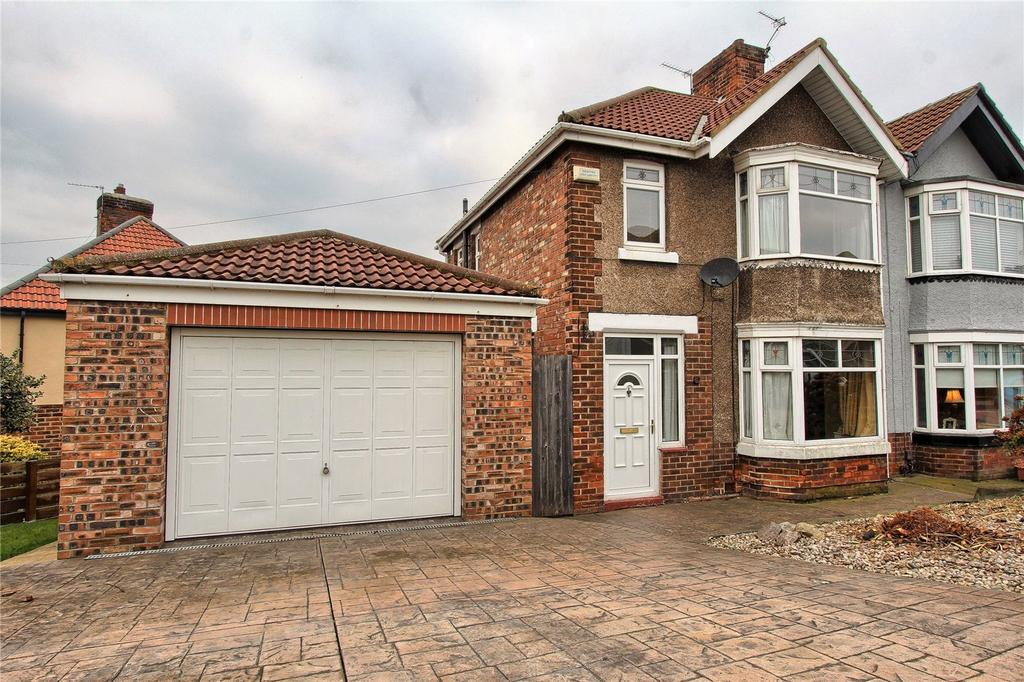 3 Bedrooms Semi Detached House for sale in Sunnybrow Avenue, Billingham
