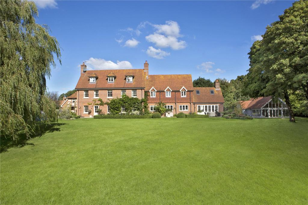 6 Bedrooms Detached House for sale in Hamstead Marshall, Newbury, Berkshire