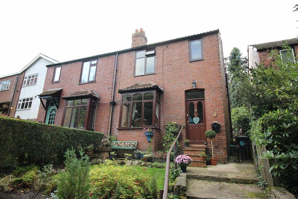 3 Bedrooms Semi Detached House for sale in Hollinwood Road, Disley, Stockport, Cheshire