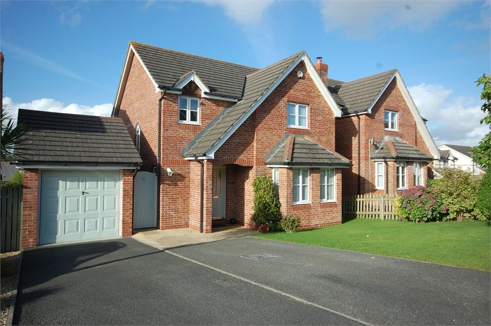 4 Bedrooms Detached House for sale in 72 Hill Hay Close, FOWEY, Cornwall