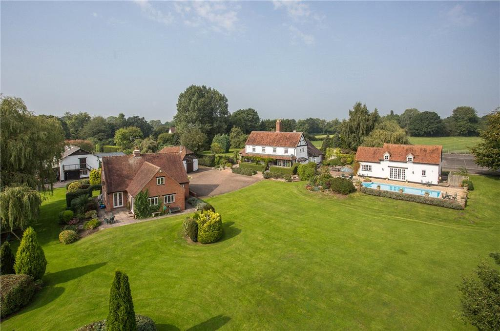6 Bedrooms Detached House for sale in Spring Lane, Lapworth, Solihull, Warwickshire, B94