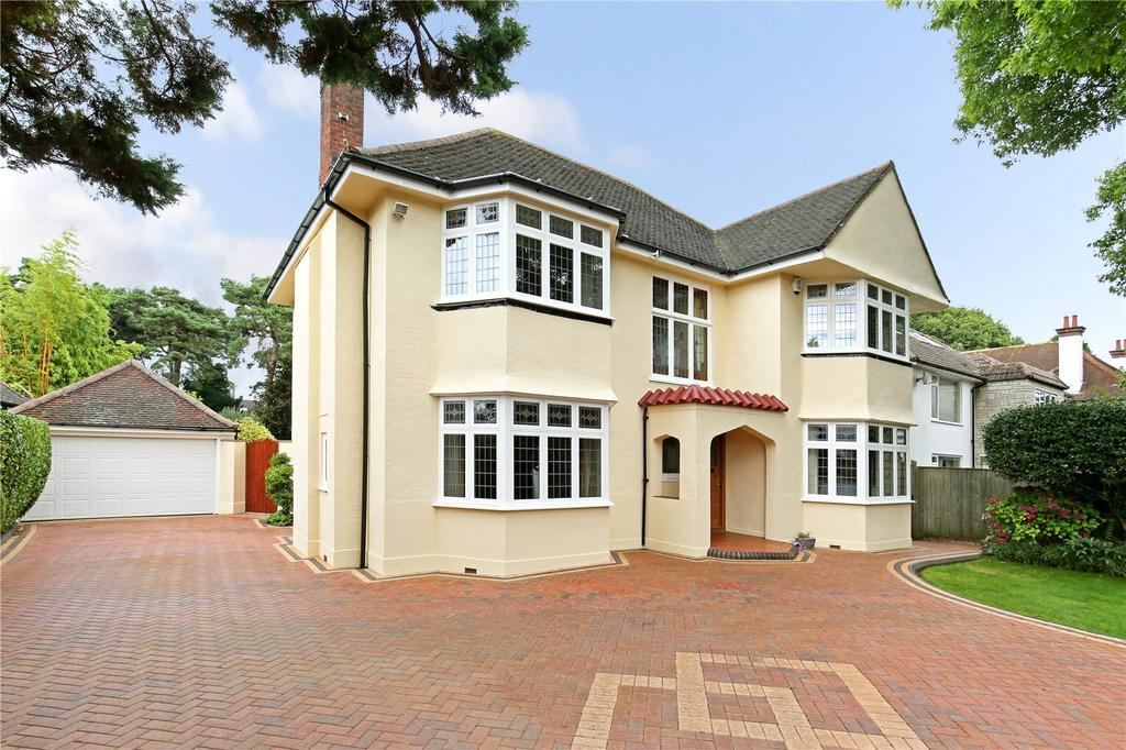 4 Bedrooms Detached House for sale in Dunkeld Road, Talbot Woods, Bournemouth, Dorset, BH3
