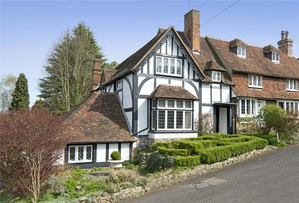 4 Bedrooms Semi Detached House for sale in Trycewell Lane, Ightham, Sevenoaks, Kent, TN15
