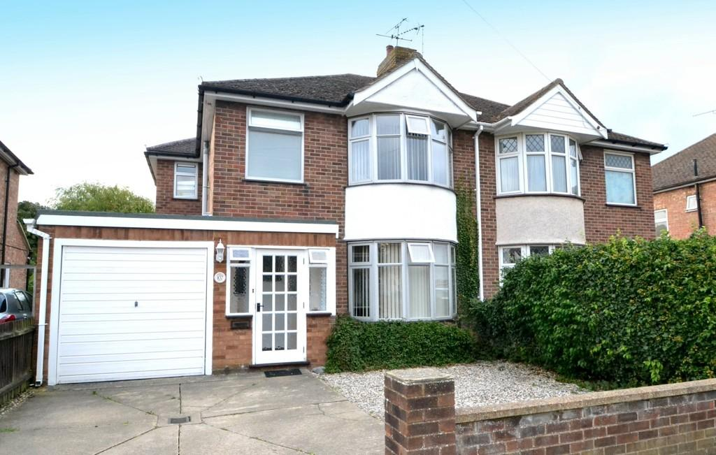 3 Bedrooms Semi Detached House for sale in Beechcroft Road, Ipswich, Suffolk, IP1 6BE