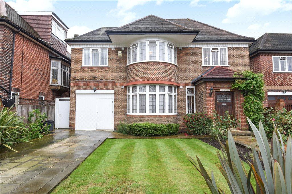 4 Bedrooms Detached House for sale in Manor House Drive, Brondesbury Park, London, NW6