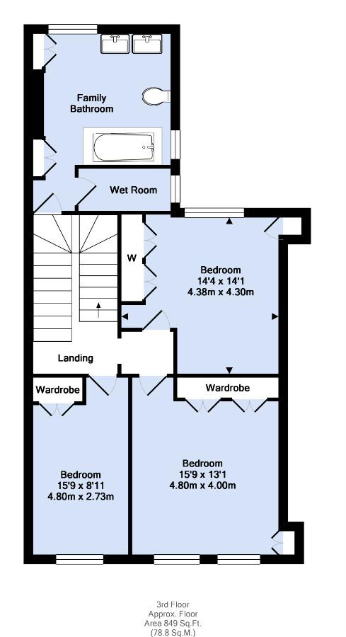 Floorplan 6 of 7: Third Floor