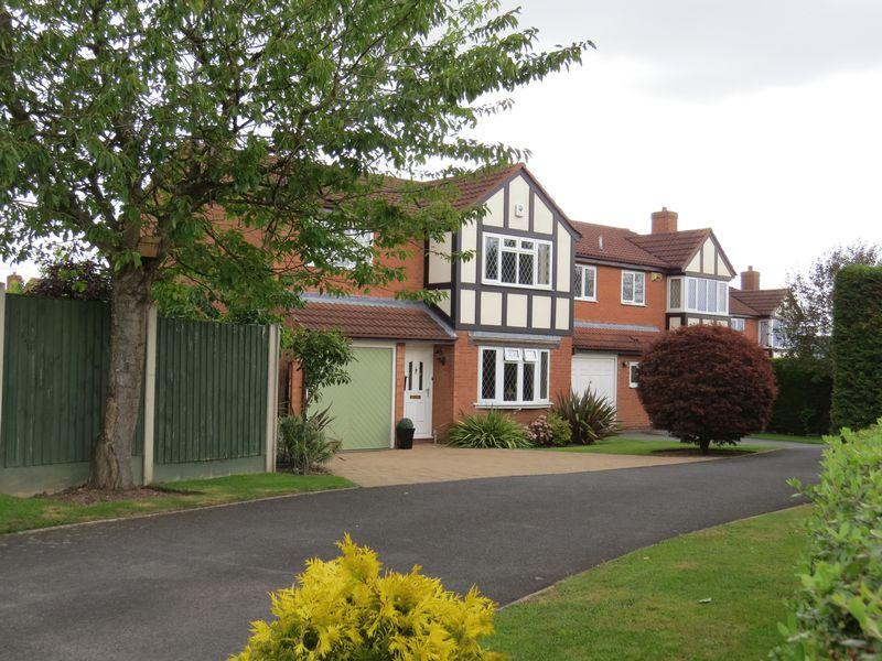 3 Bedrooms Detached House for sale in Cranfield Drive, Belvidere, Shrewsbury, SY2 5HR