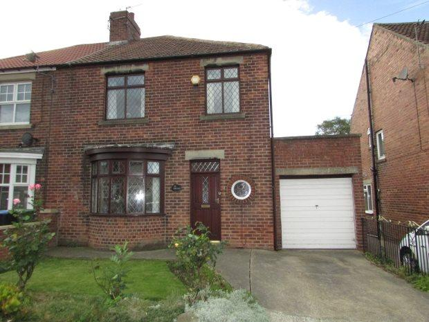 3 Bedrooms Semi Detached House for sale in 27 WEST TERRACE, SPENNYMOOR, SPENNYMOOR DISTRICT