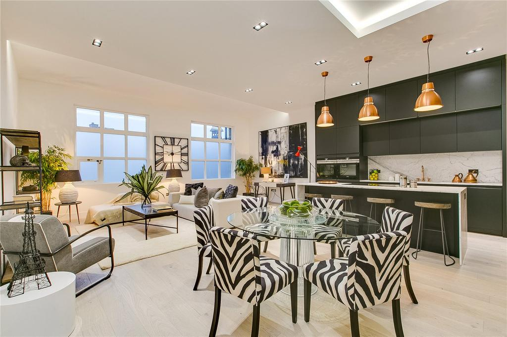 2 Bedrooms Flat for sale in Warriner Gardens, Battersea, London