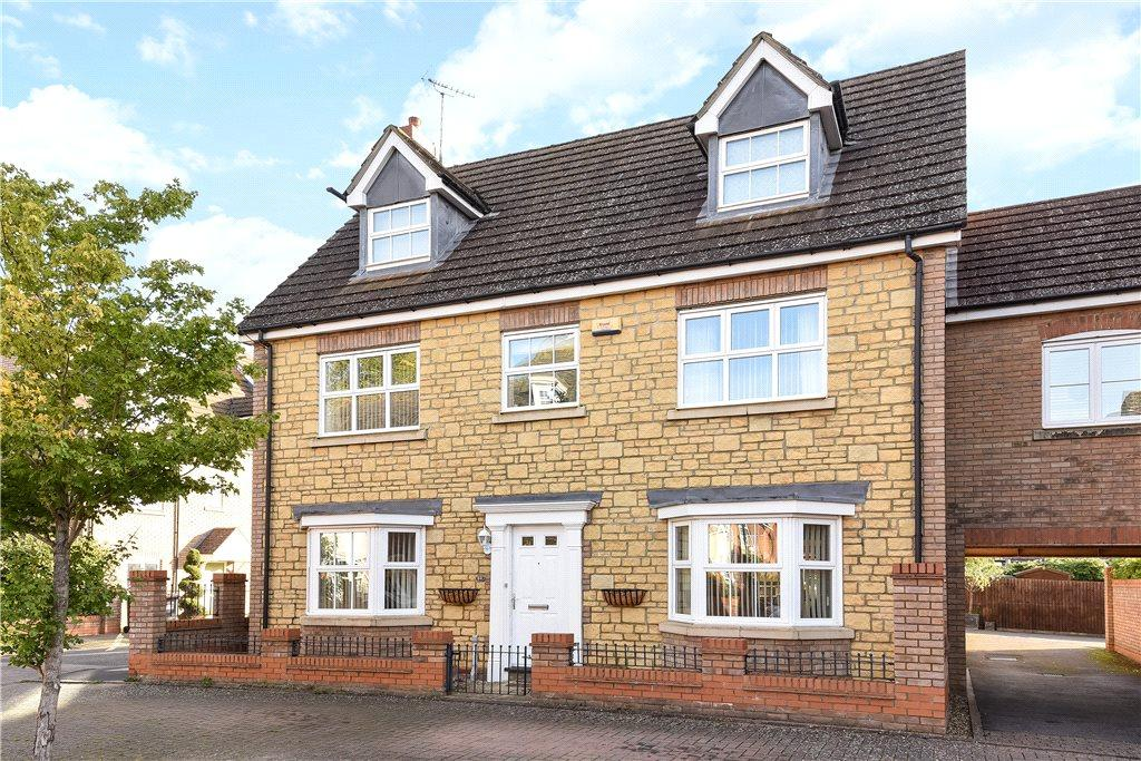 5 Bedrooms Link Detached House for sale in Harewelle Way, Harrold, Bedfordshire