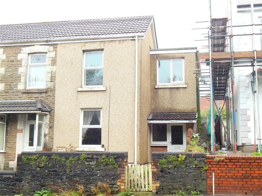 2 Bedrooms End Of Terrace House for sale in Jersey Road, Bonymaen, Swansea