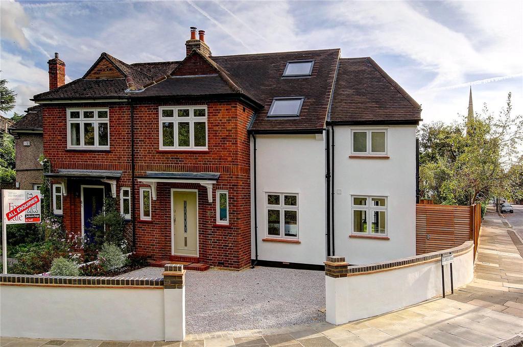 5 Bedrooms Semi Detached House for sale in Burtons Road, Hampton Hill, TW12