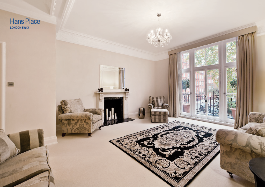 2 Bedrooms Flat for sale in Hans Place, London. SW1X