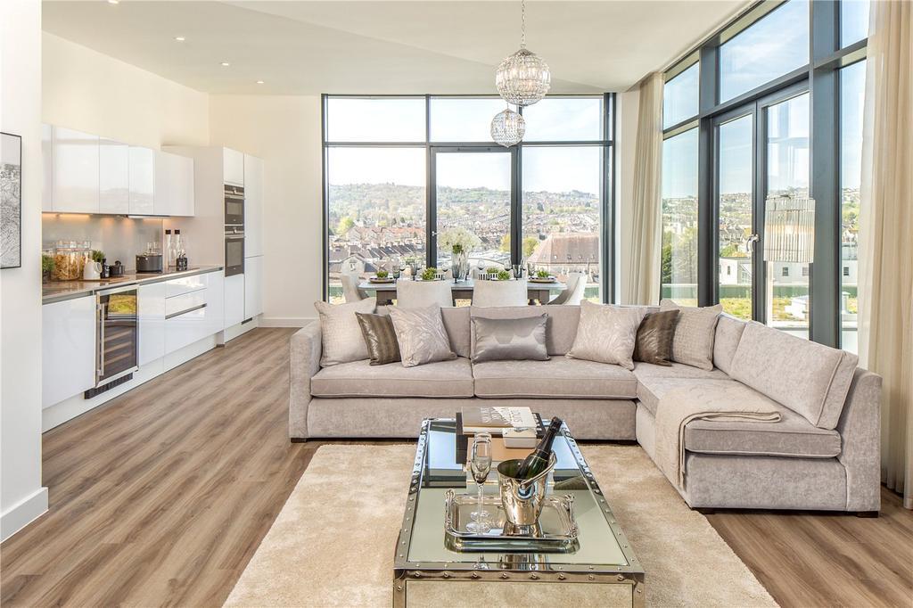 2 Bedrooms Terraced House for sale in Bath Riverside, Bath, BA2